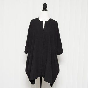 Aritzia Babaton Oversized Howard Tunic - Black